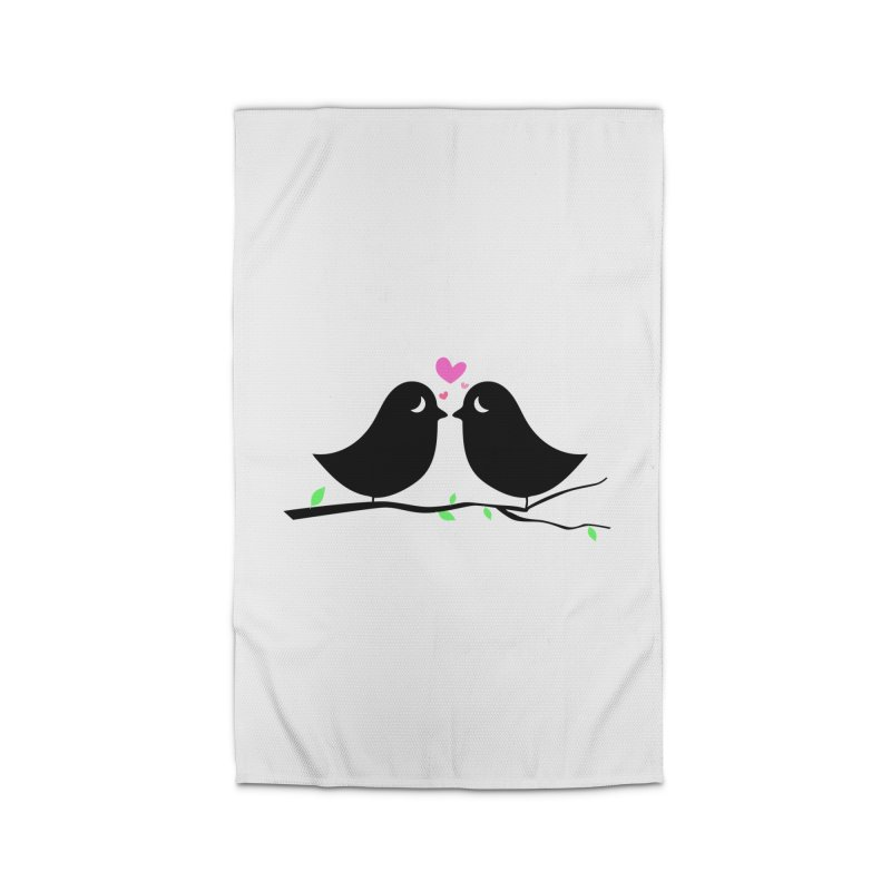 Love Birds Home Rug by WaWaTees Shop