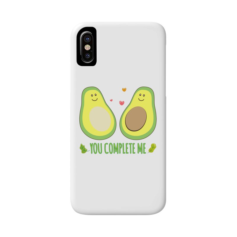 You Complete Me Accessories Phone Case by WaWaTees Shop