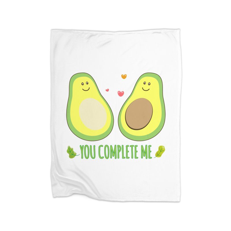 You Complete Me Home Blanket by WaWaTees Shop