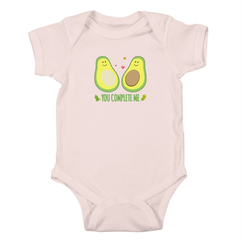 You Complete Me Kids Baby Bodysuit by WaWaTees Shop