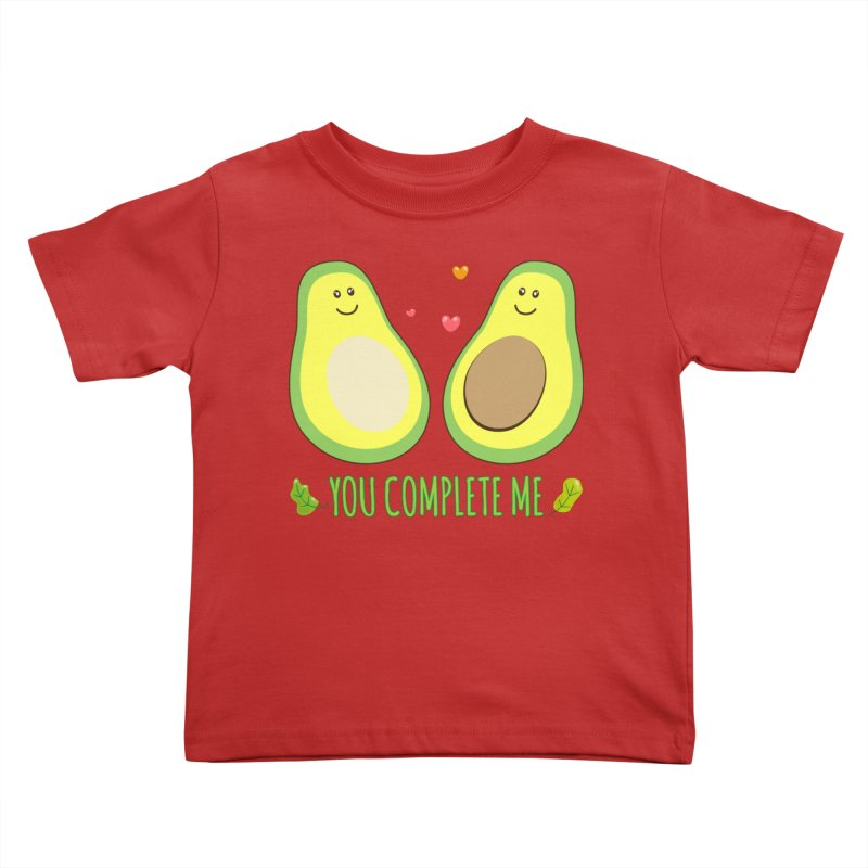 You Complete Me Kids Toddler T-Shirt by WaWaTees Shop