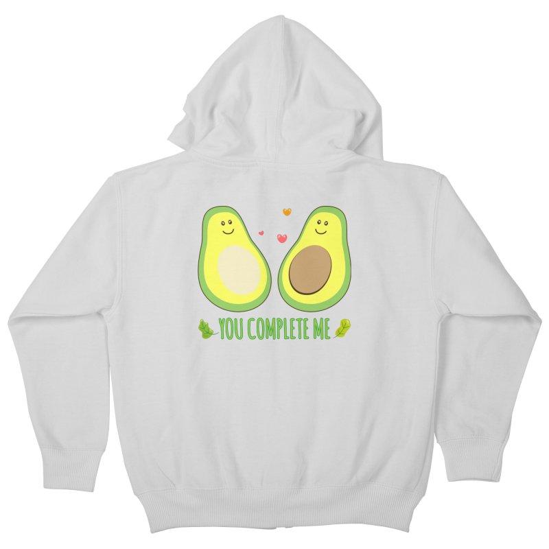 You Complete Me Kids Zip-Up Hoody by WaWaTees Shop