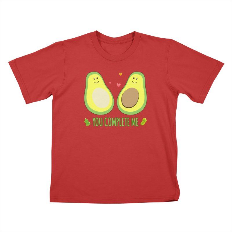 You Complete Me Kids T-Shirt by WaWaTees Shop