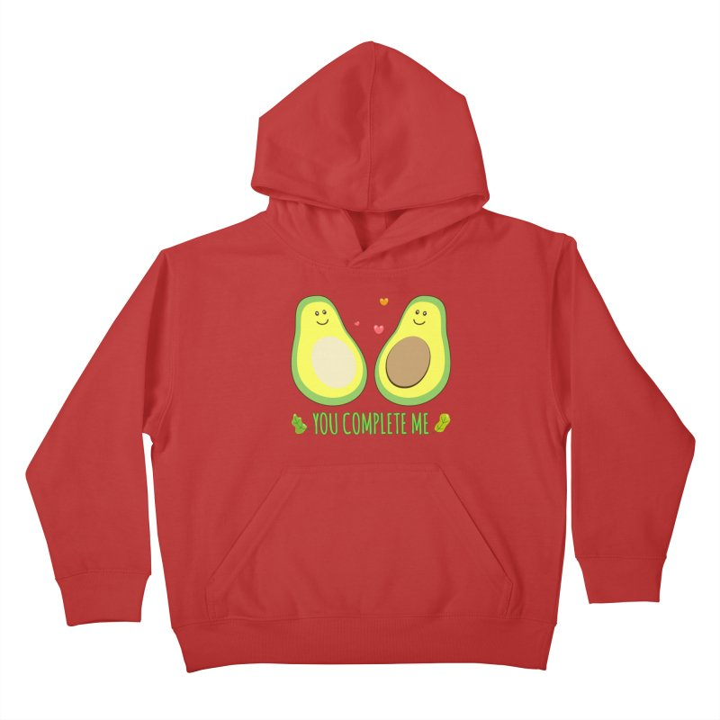 You Complete Me Kids Pullover Hoody by WaWaTees Shop