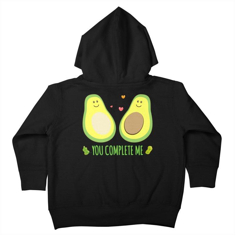 You Complete Me Kids Toddler Zip-Up Hoody by WaWaTees Shop