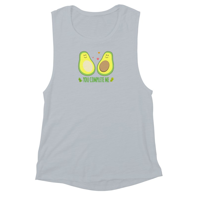 You Complete Me Women's Muscle Tank by WaWaTees Shop