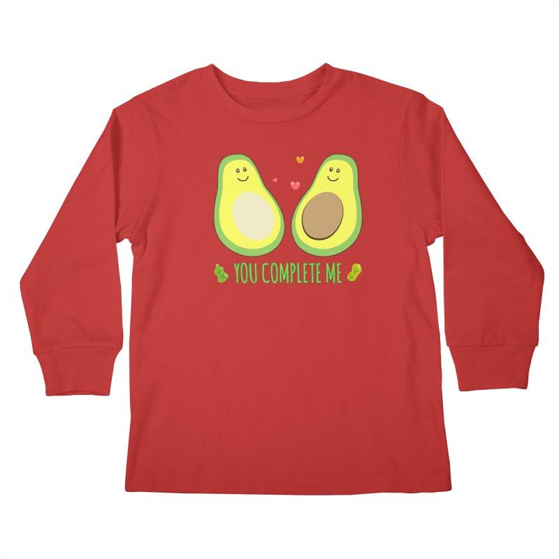 You Complete Me Kids Longsleeve T-Shirt by WaWaTees Shop