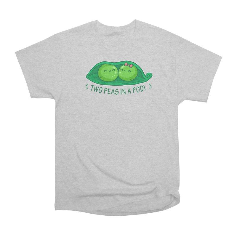 Two Peas in a Pod! 2 Women's Heavyweight Unisex T-Shirt by WaWaTees Shop