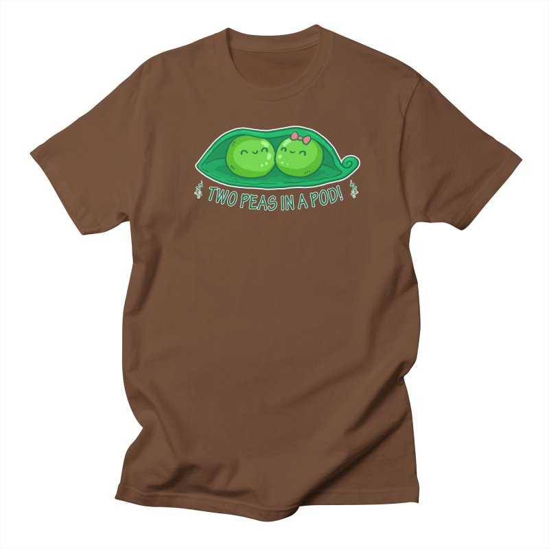 Two Peas in a Pod! 2 Men's Regular T-Shirt by WaWaTees Shop