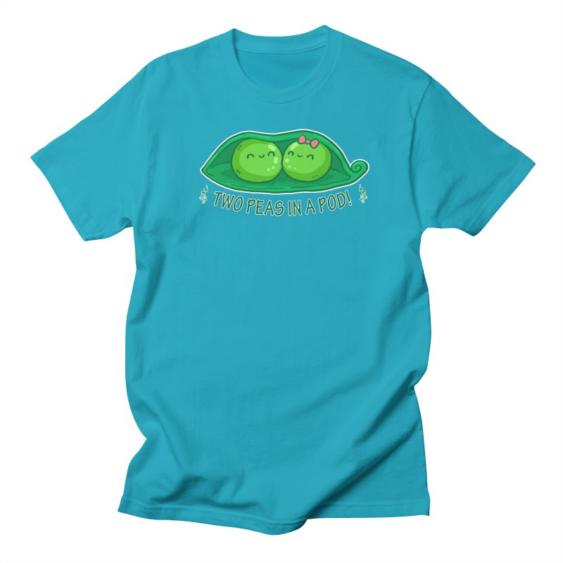 Two Peas in a Pod! 2 Men's T-Shirt by WaWaTees Shop