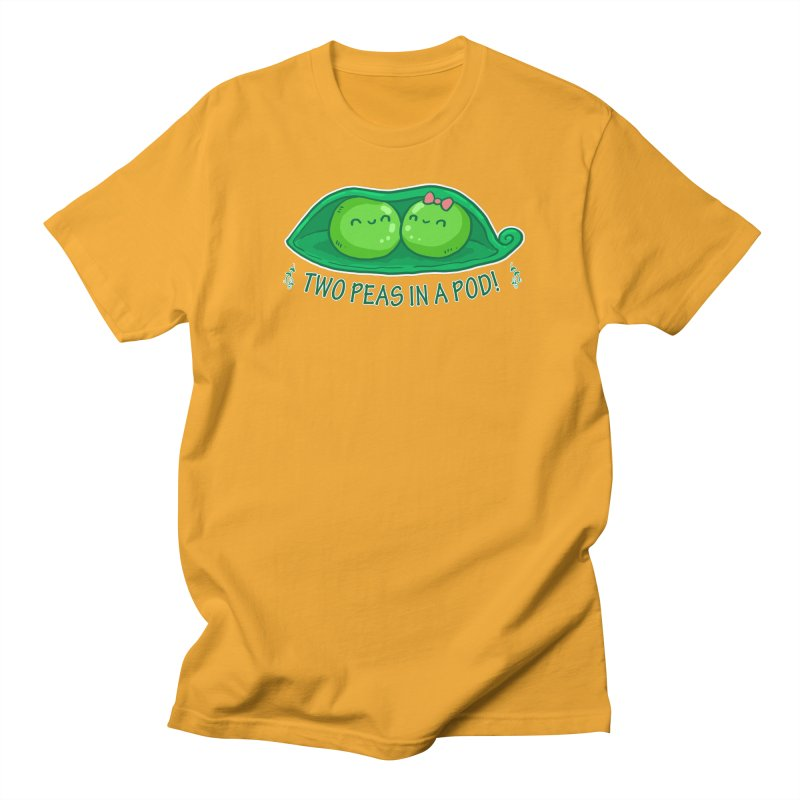 Two Peas in a Pod! 2 Women's Unisex T-Shirt by WaWaTees Shop