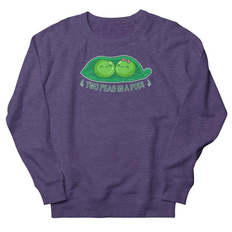 Two Peas in a Pod! 2 Women's French Terry Sweatshirt by WaWaTees Shop