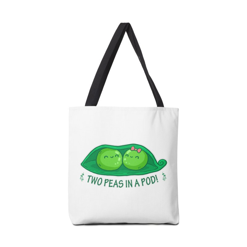 Two Peas in a Pod! 2 Accessories Bag by WaWaTees Shop