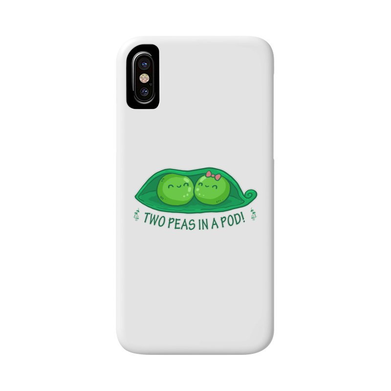 Two Peas in a Pod! 2 Accessories Phone Case by WaWaTees Shop