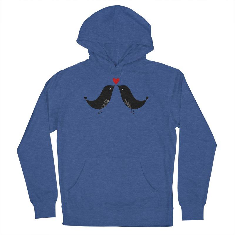 Love Birds 2 Men's Pullover Hoody by WaWaTees Shop