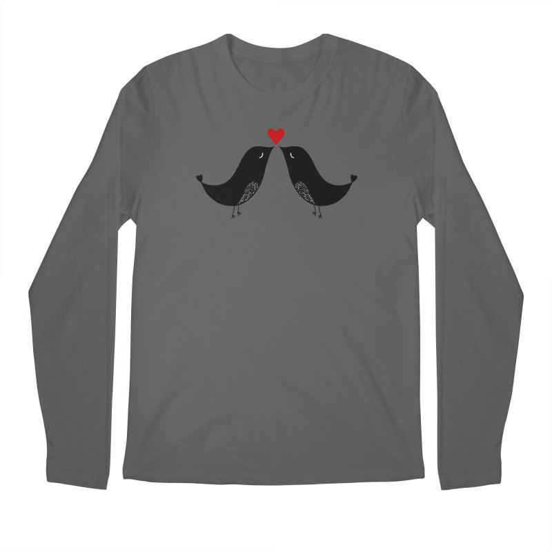 Love Birds 2 Men's Longsleeve T-Shirt by WaWaTees Shop