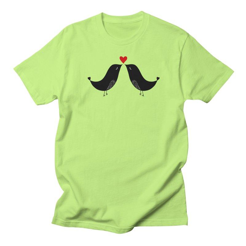 Love Birds 2 Men's T-Shirt by WaWaTees Shop
