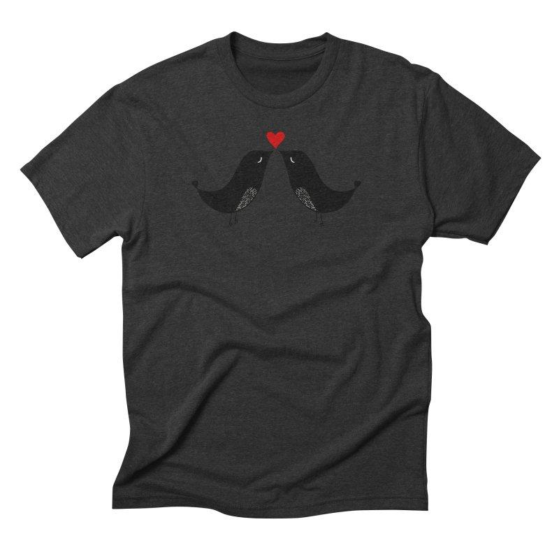 Love Birds 2 Men's Triblend T-Shirt by WaWaTees Shop