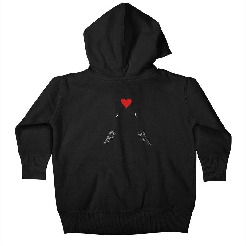 Love Birds 2 Kids Baby Zip-Up Hoody by WaWaTees Shop