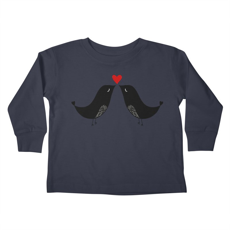 Love Birds 2 Kids Toddler Longsleeve T-Shirt by WaWaTees Shop