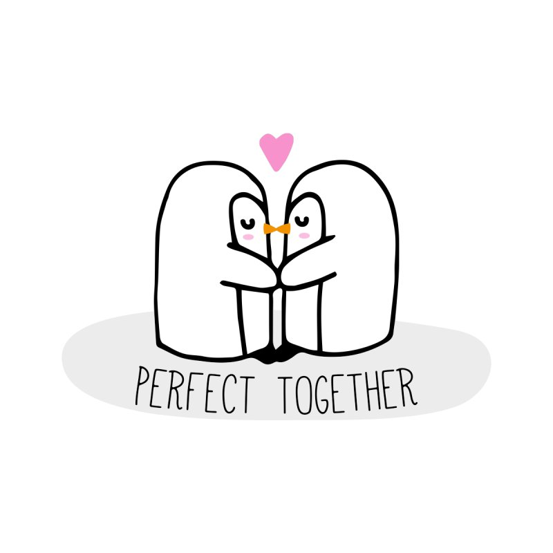 Perfect Together None  by WaWaTees Shop