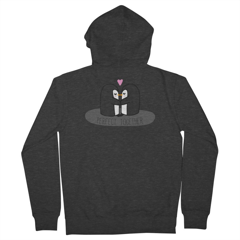 Perfect Together Men's French Terry Zip-Up Hoody by WaWaTees Shop