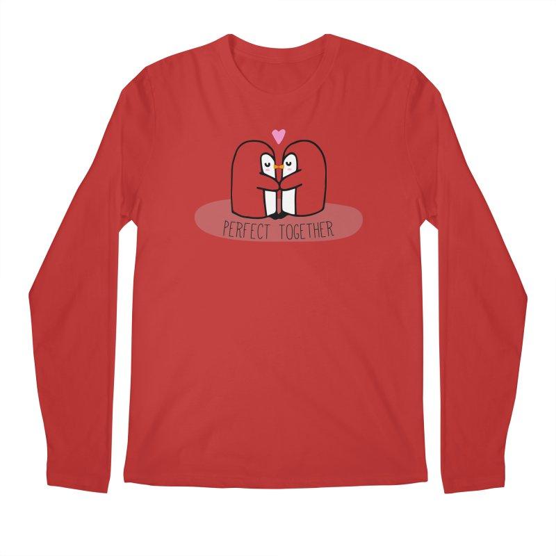 Perfect Together Men's Regular Longsleeve T-Shirt by WaWaTees Shop