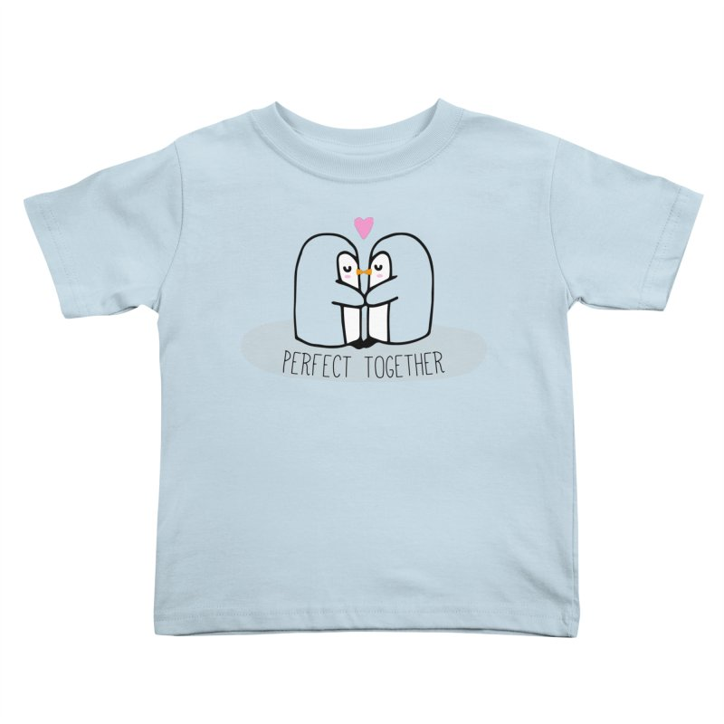 Perfect Together Kids Toddler T-Shirt by WaWaTees Shop