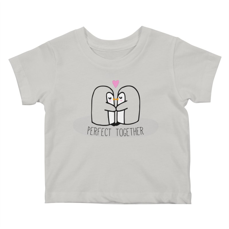 Perfect Together Kids Baby T-Shirt by WaWaTees Shop
