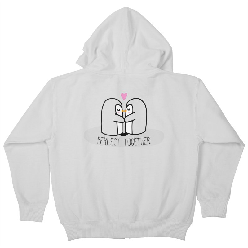 Perfect Together Kids Zip-Up Hoody by WaWaTees Shop