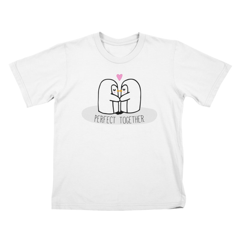 Perfect Together Kids T-Shirt by WaWaTees Shop