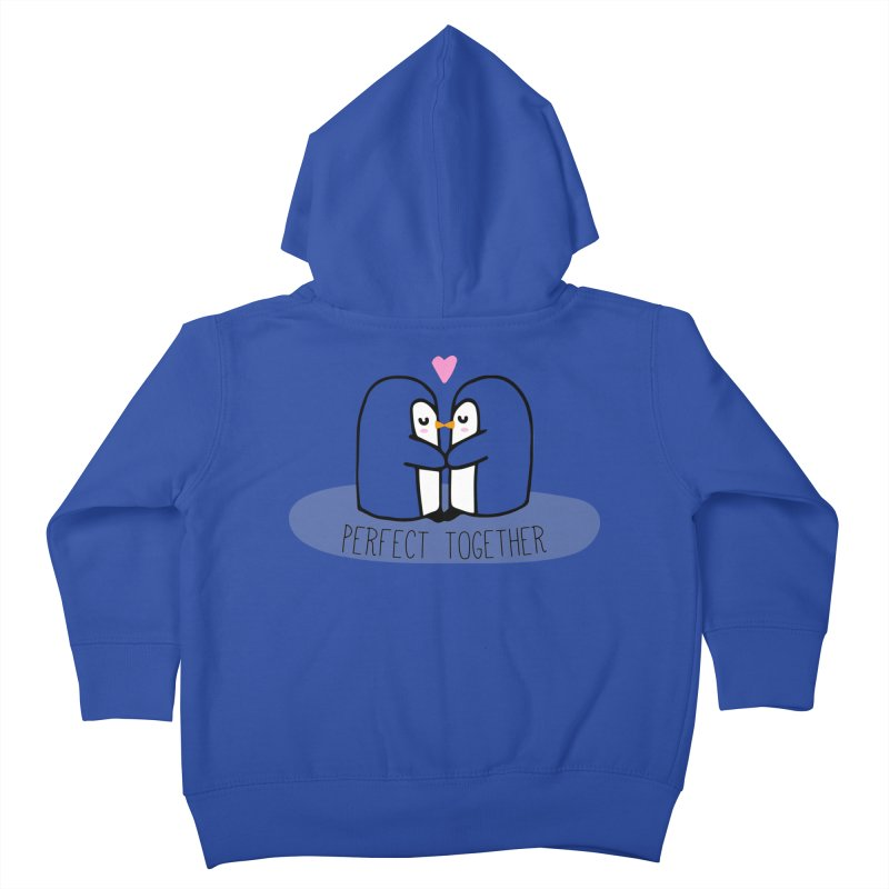 Perfect Together Kids Toddler Zip-Up Hoody by WaWaTees Shop