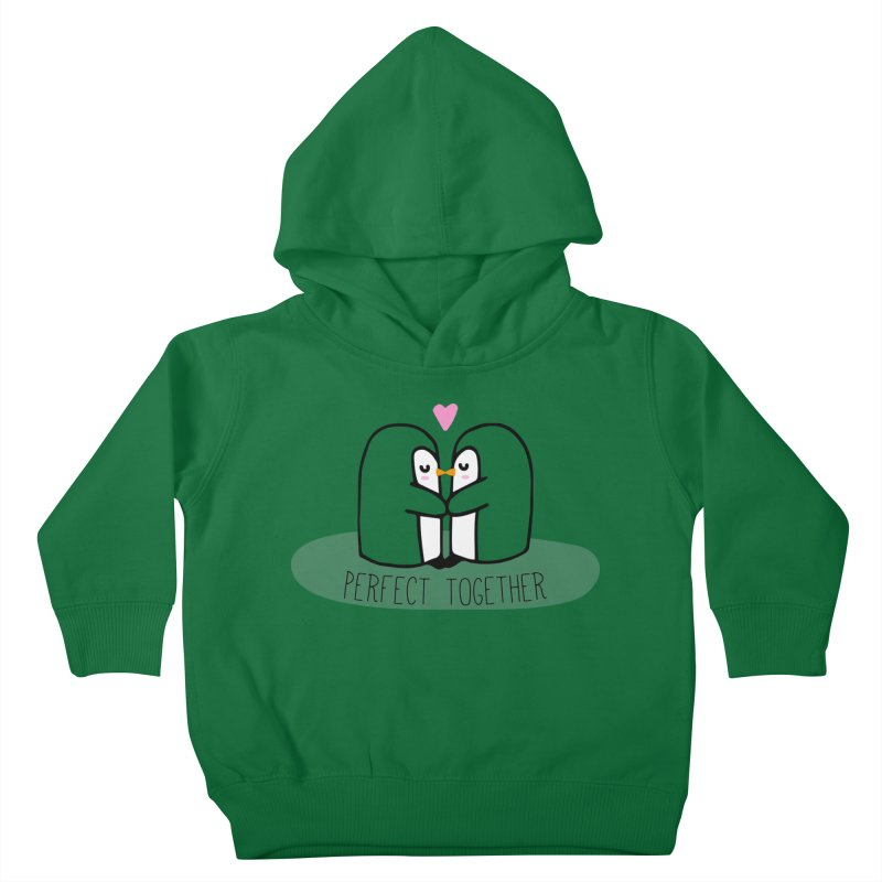 Perfect Together Kids Toddler Pullover Hoody by WaWaTees Shop