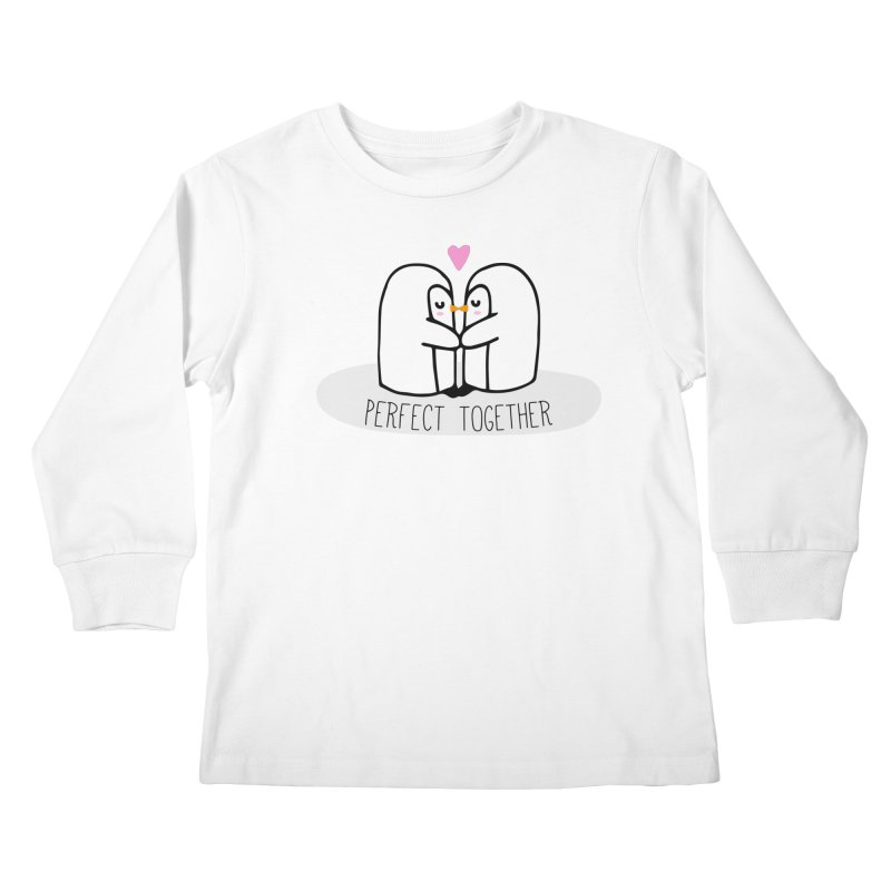 Perfect Together Kids Longsleeve T-Shirt by WaWaTees Shop
