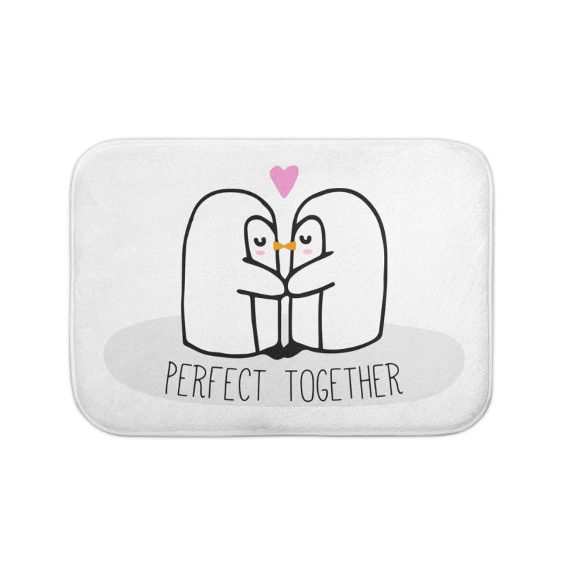 Perfect Together Home Bath Mat by WaWaTees Shop