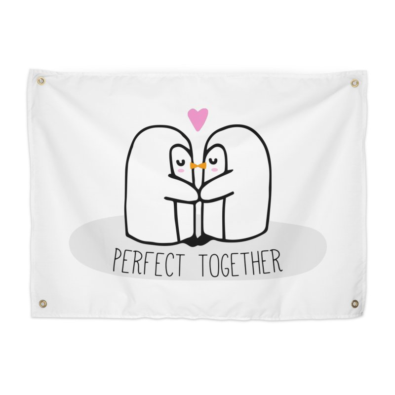 Perfect Together Home Tapestry by WaWaTees Shop
