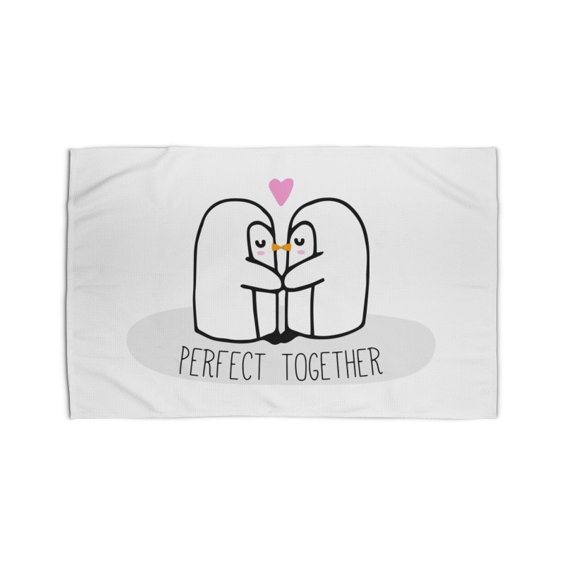 Perfect Together Home Rug by WaWaTees Shop