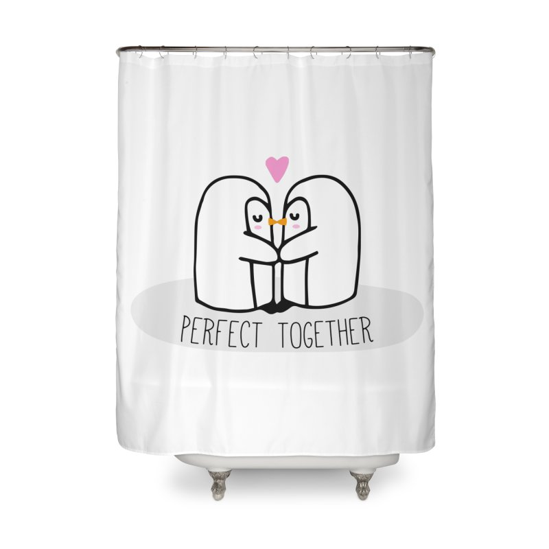 Perfect Together Home Shower Curtain by WaWaTees Shop