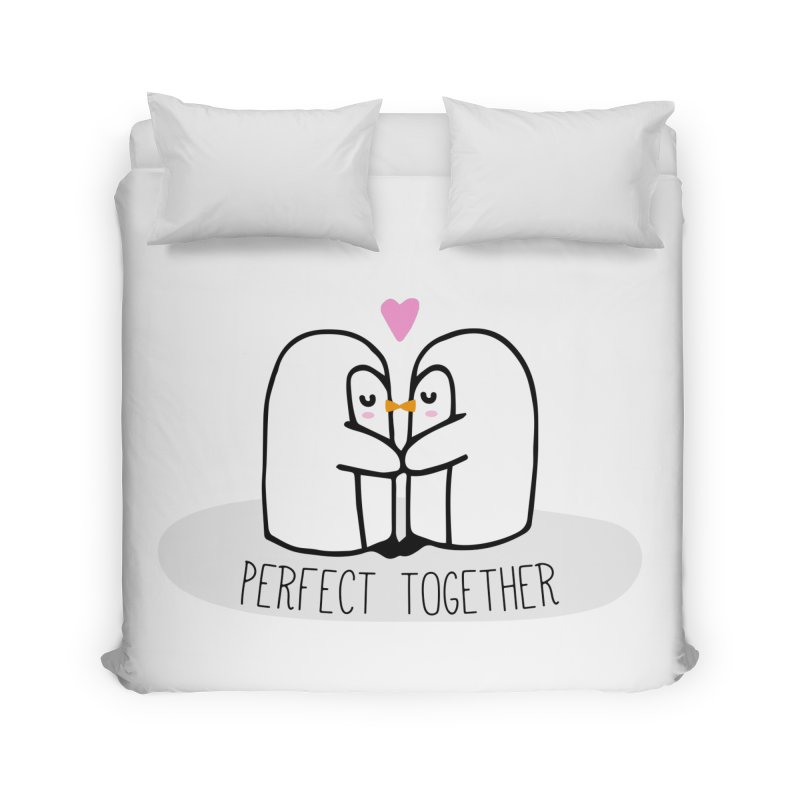 Perfect Together Home Duvet by WaWaTees Shop