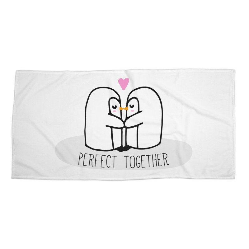 Perfect Together Accessories Beach Towel by WaWaTees Shop