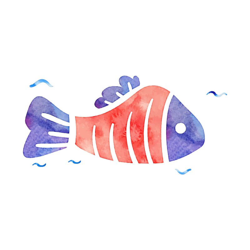 Marlin Watercolor by WaWaTees Shop