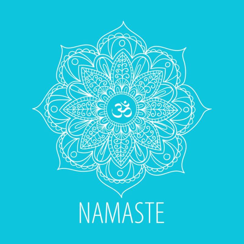 Namaste (White) by WaWaTees Shop