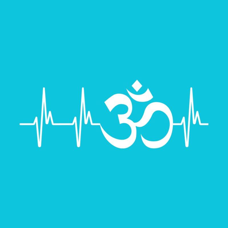 Yogi's Heartbeat (White) by WaWaTees Shop
