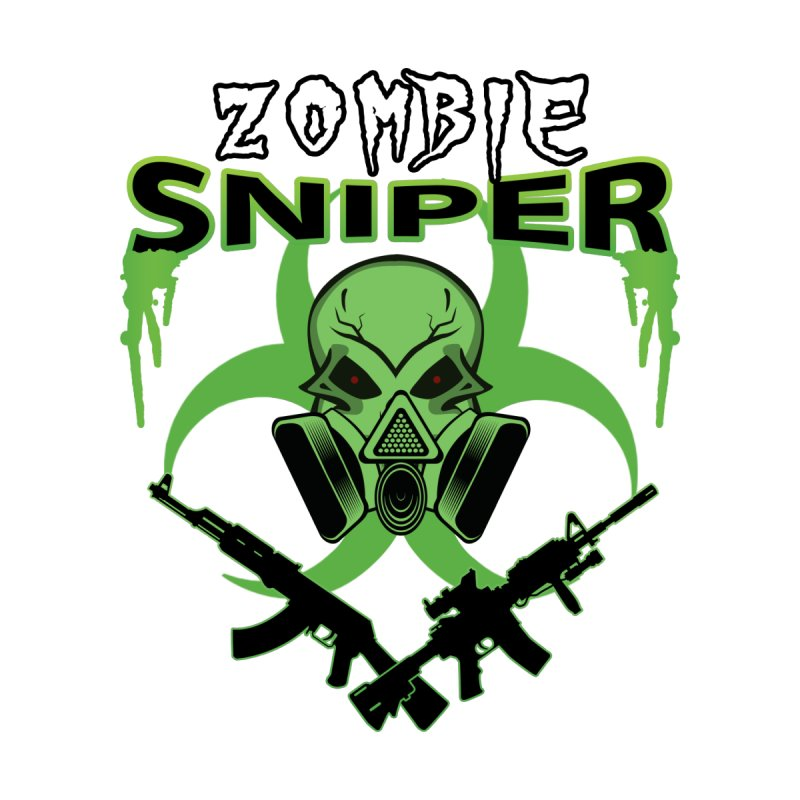Zombie Sniper None  by WaWaTees Shop