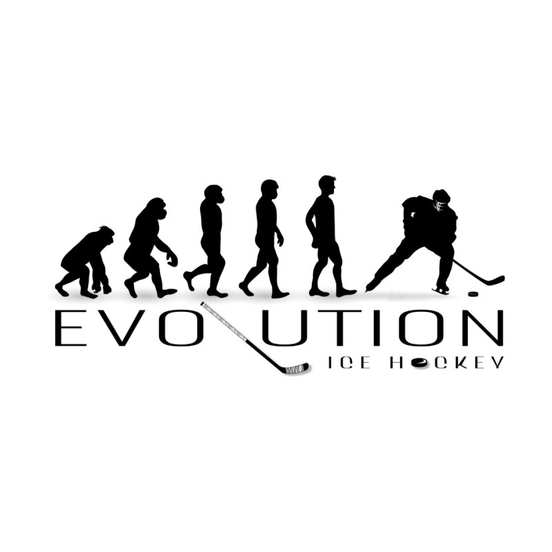 Hockey Evolution None  by WaWaTees Shop