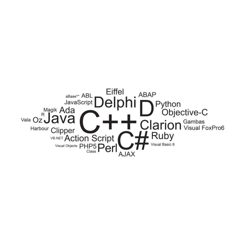 Programming Languages Wordle by WaWaTees Shop