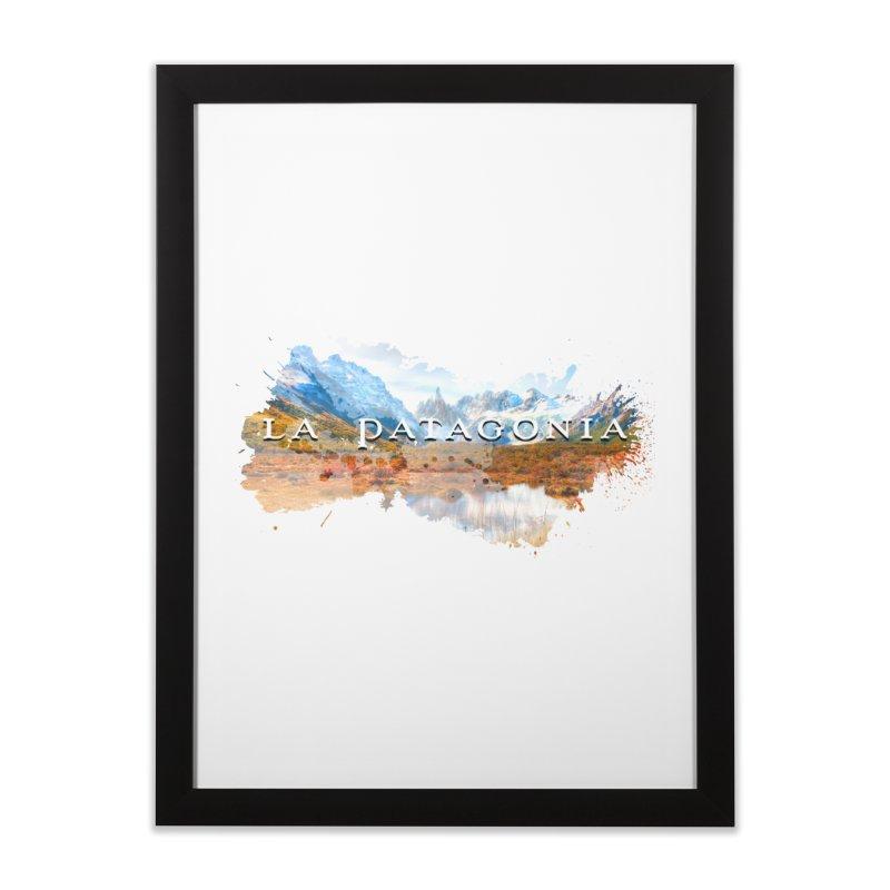 La Patagonia Home Framed Fine Art Print by WaWaTees Shop