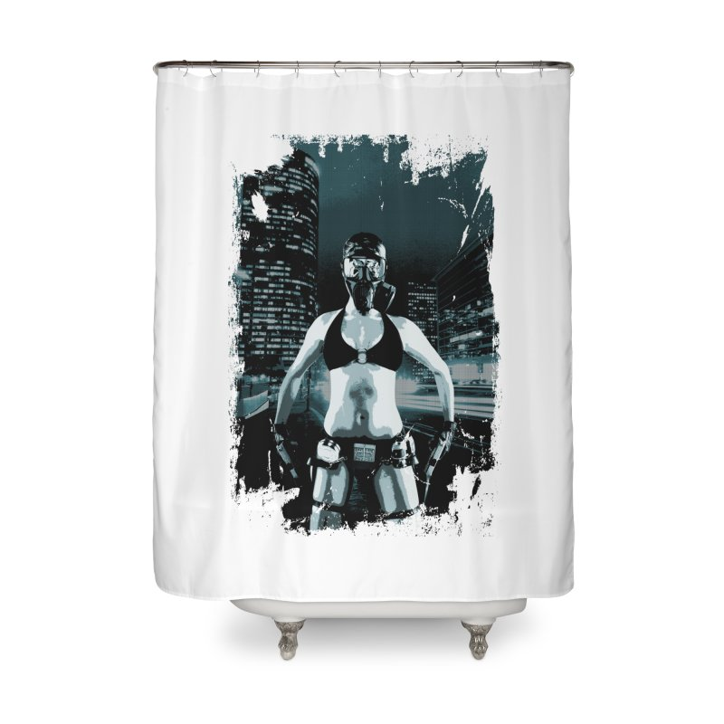 Masked Sexy Killer Home Shower Curtain by WaWaTees Shop