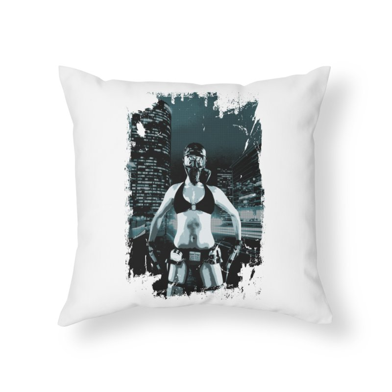 Masked Sexy Killer Home Throw Pillow by WaWaTees Shop