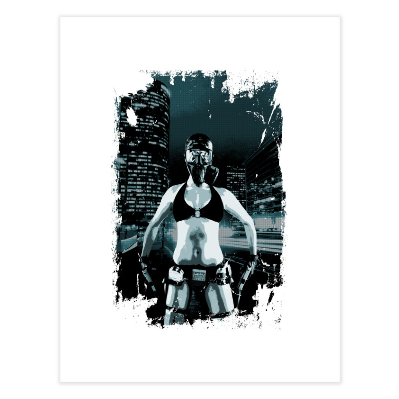 Masked Sexy Killer Home Fine Art Print by WaWaTees Shop